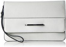 Calvin Klein HEATH3R Clutch, Sacchetto Donna, Bianco (Powder White), 2x17x25 cm (b x h x t)