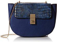 SwankySwans Borsa a Tracolla Donna, Blu (Blu (Bleu Marine)), Taglia Unica
