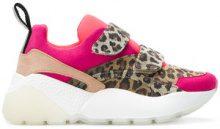 Stella McCartney - Sneakers con pannelli animalier - women - Polyamide/Polyester/rubber - 36, 38, 39, 40, 41, 35, 37 - BROWN