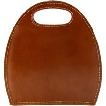 Borsette Dream Leather Bags Made In Italy  Borsa Donna A Mano In Pelle, Struttura Rigida Colore Cognac - Pe