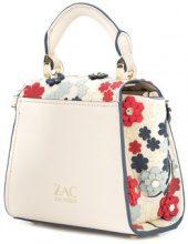 Zac Zac Posen - Eartha 3D printed mini top handle bag - women - Calf Leather - OS - NUDE & NEUTRALS