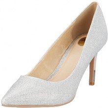 Buffalo H733-c002a-4 P1855c Glitter, Scarpe con Tacco Donna, Argento (Silver), 39 EU