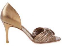 Sarah Chofakian - open toe sandals - women - Goat Skin - 36, 34, 35, 37, 38, 39, 40 - Metallizzato