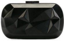Corto Moltedo - Susan Desny clutch bag - women - Brass/Silk Satin - OS - BLACK