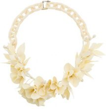 Isabel Marant - Collana a fiori '3D' - women - Acrylic/Plastic - OS - Bianco