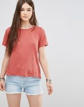 Only - T-shirt con laccetto sul retro