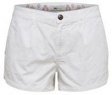 ONLY Solid Shorts Women White