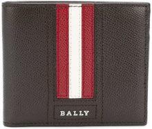 Bally - Portafoglio con dettaglio strisce - men - Calf Leather - OS - BROWN
