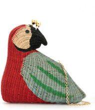Serpui - straw 'Arara' bag - women - Straw - OS - RED