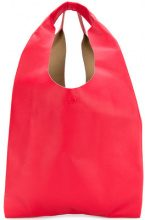 Maison Margiela - Shopper oversize - women - Leather/Polyamide/Polyurethane - One Size - RED
