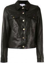 Frame Denim - Giacca con bottoni - women - Leather - S, M, L - BLACK