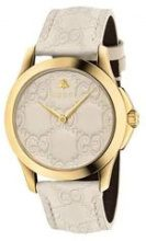 Gucci - Orologio 'G-Timeless 38mm' - women - Leather/Gold Plated Brass - OS - Color carne & neutri
