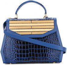 Rula Galayini - Borsa 'Amelie Lines' - women - Calf Leather - OS - Blu