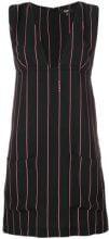 Versus - Miniabito a righe - women - Polyester - 38, 42, 40 - Nero