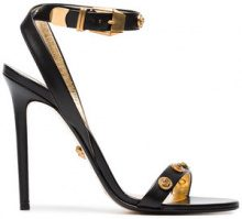 Versace - Sandali 'Medusa' - women - Leather - 37, 38, 41, 36, 39, 37.5, 38.5, 40, 35, 39.5 - BLACK