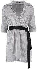 Isabel Obi Belt Wrap Shirt Dress
