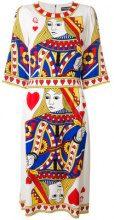 Dolce & Gabbana - Vestito 'Regina di Cuori' - women - Silk/Spandex/Elastane - 38 - MULTICOLOUR