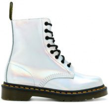 Dr. Martens - Pascal boots - women - Polyester/PVC/rubber - 4, 5, 6, 6.5 - METALLIC
