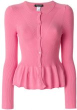 Twin-Set - Cardigan aderente - women - Viscose/Polyester - XS, M, L, XL - PINK & PURPLE