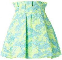MSGM - paperbag waist skirt - women - Polyamide/Polyester/other fibers - 40 - BLUE