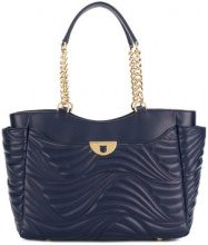 Salvatore Ferragamo - Borsa Tote 'Lianne' - women - Calf Leather - OS - BLUE