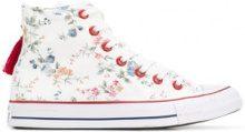 Converse - Sneakers con stampa floreale - women - Cotone/rubber/Polyester - 3.5, 6, 7 - WHITE