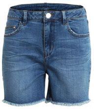 VILA Short Denim Shorts Women Blue