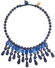 FASHIONNECKLACEBRACELETANKLET, colore: blu, cod. KATY372369