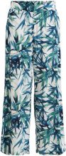 OBJECT COLLECTORS ITEM Patterned, Loose Fit Trousers Women White