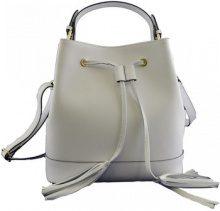 Borsette Dream Leather Bags Made In Italy  Borsa Donna A Mano In Pelle Colore Bianco - Pelletteria Toscana