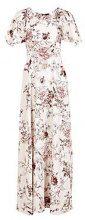 Boutique Mallorie Floral Cape Maxi Dress