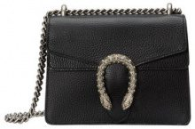 Gucci - Dionysus leather mini bag - women - Leather/Microfibre - One Size - BLACK