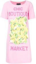Boutique Moschino - Vestito modello T-shirt - women - Polyester/Spandex/Elastane - 38, 40 - Rosa & viola