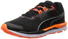 PumaSpeed 600 IGNITE Wn - Scarpe Running Donna , Nero (Schwarz (black-periscope-fluo peach 03)), 36