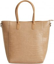 OBJECT COLLECTORS ITEM Imitated Leather Bag Women Beige