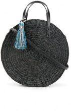 Rebecca Minkoff - Tote a forma sferica - women - Straw - OS - BLACK