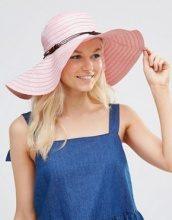 7X - Cappello estivo e floscio di paglia