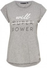 ONLY Printed Sports Top Women Grey