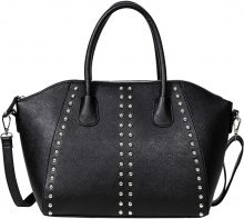 Borsa con borchie (Nero) - bpc bonprix collection