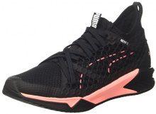 Puma Ignite XT Netfit Wn's, Scape per Sport Outdoor Donna, Nero Black-Soft Fluo Peach, 42.5 EU