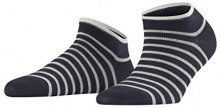 FALKE Nautical, Calzini alla Caviglia Donna, Blu (Dark Nave 6370), 39/42