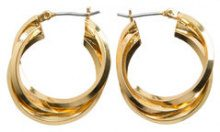 PIECES Hoop Earrings Women Gold