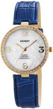 Akzent - Orologio da polso, analogico al quarzo, diversi materiali, Donna
