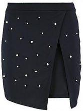 Paige Pearl Embellished Mini Skirt