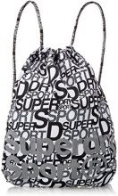 Superdry Drawstring Sports, Borsa a Zainetto Donna, Multicolore (SD Print), 37.0x1.0x47.0 cm (W x H x L)