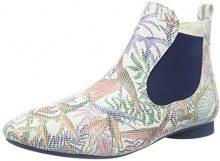 Think! Guad 080273, Stivali Chelsea Donna, Multicolore (bianco/kombi 97), 42.5 EU