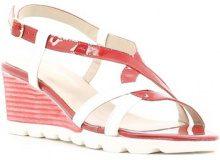 Sandali Grace Shoes  E6504 Sandalo zeppa Donna Rosso