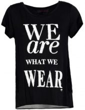 Top Café Noir  MJT062 T SHIRT WE ARE WHAT WE WEAR