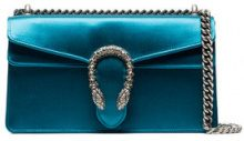 Gucci - Borsa a spalla 'Dionysus' - women - Silk Satin - OS - BLUE