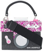 Karl Lagerfeld - Clutch 'Yoni Alter Minaudiere' - women - Acrylic/Leather - OS - MULTICOLOUR